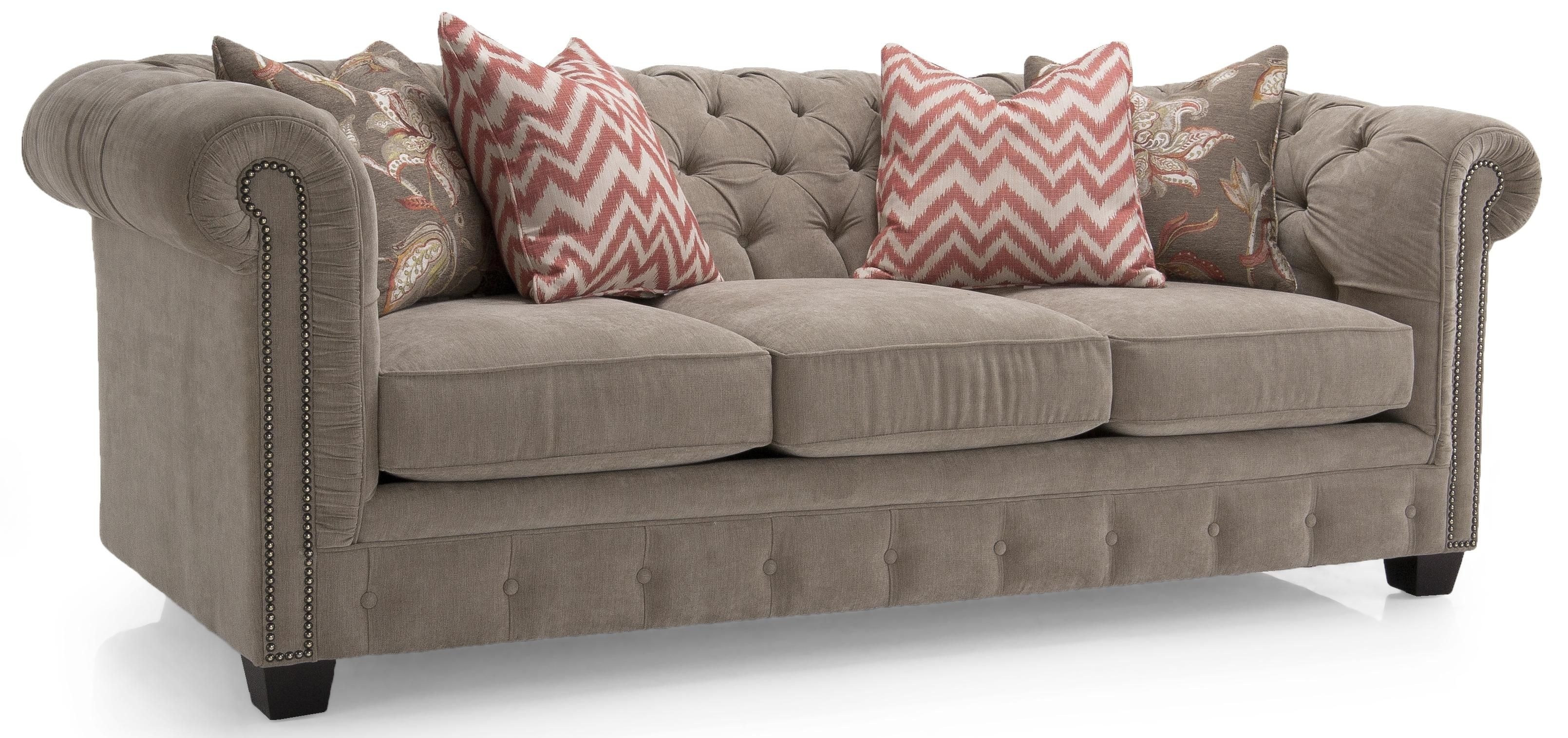 Berkshire Gray Reclining Sofa Sofas Living Room