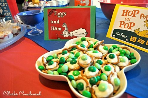 Dr Seuss Baby Shower Dr Seuss Baby Shower Baby Shower Foods And