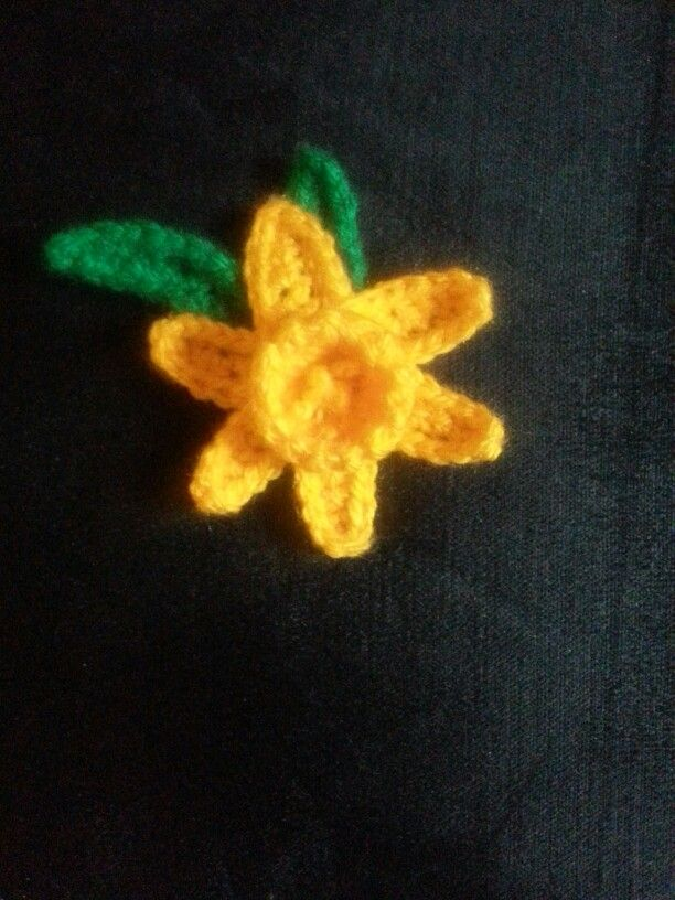 Daffodil Brooch I Made Following The Pattern In Attic 24 Http