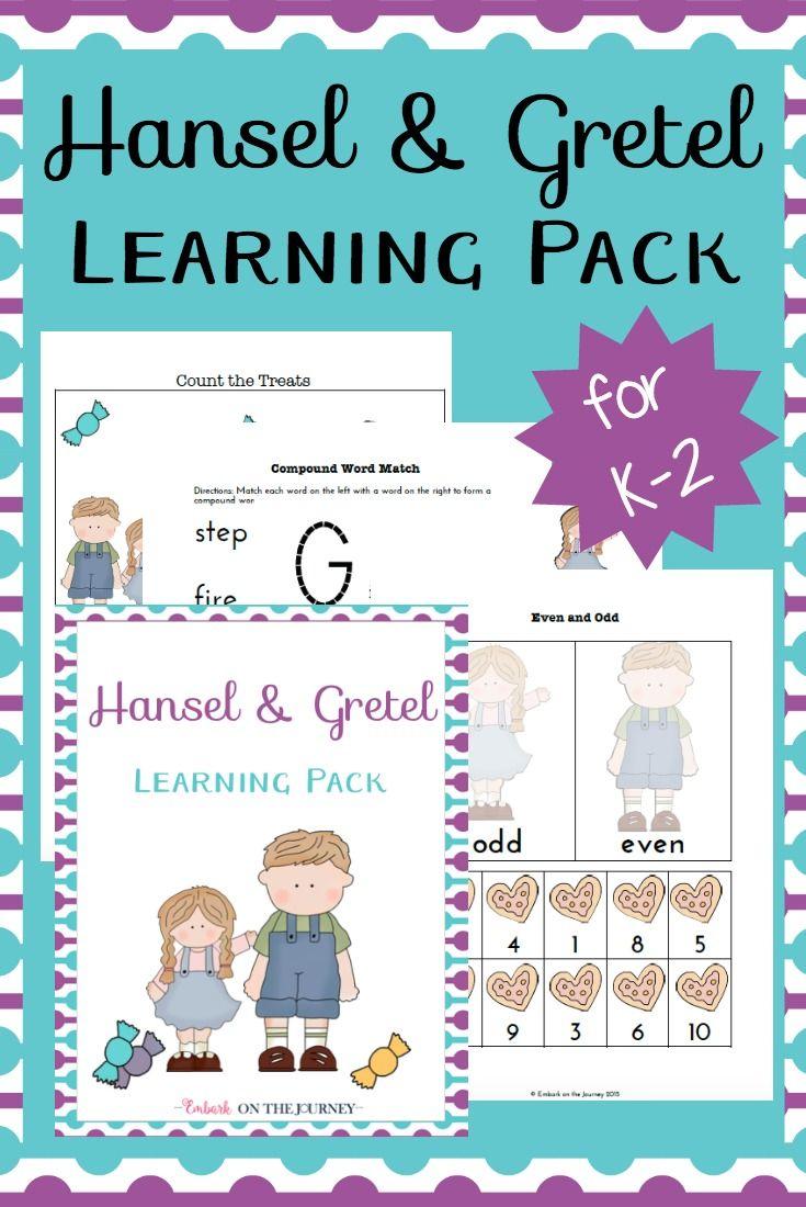Free Printable Hansel & Gretel Learning Pack | summer activities ...