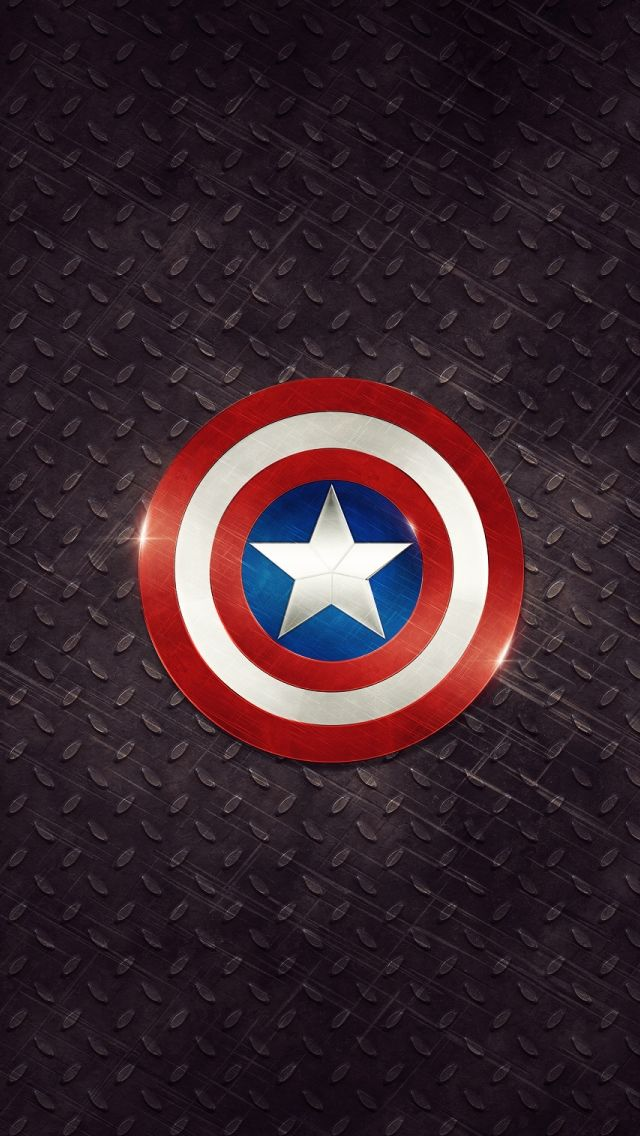 Captain America Logo Iphone Wallpapers Captain America Logo
