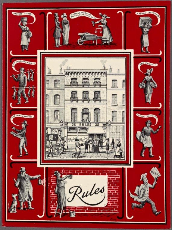 Rules (RESTAURANT) Restaurants in london england