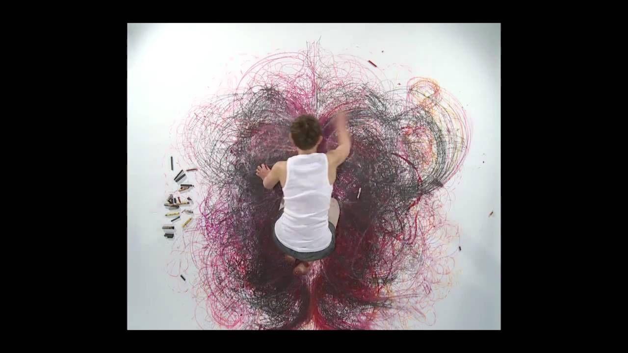 Mark Morreau's film of artist Naomi Kendrick's Music Drawing.