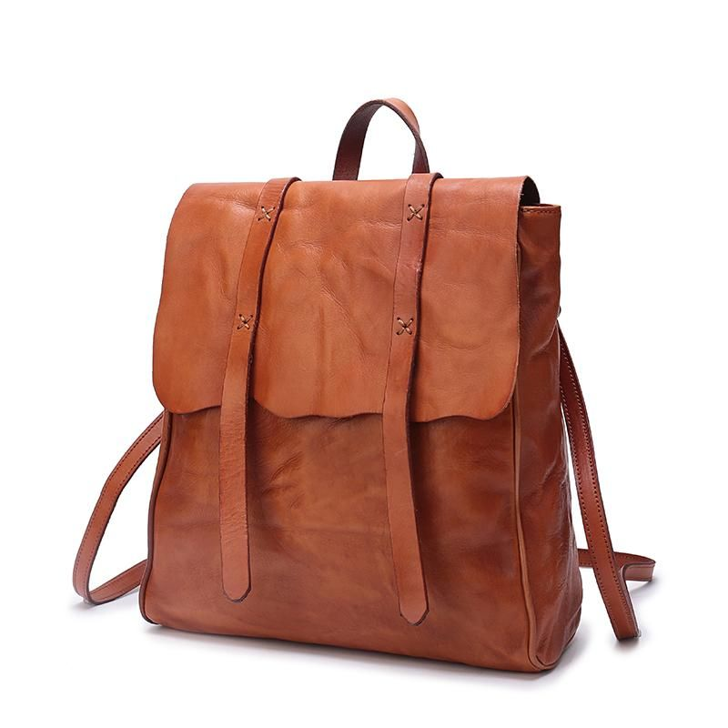 recognized brands biggest discount san francisco Best Leather Womens Flap Satchel Vertical 12