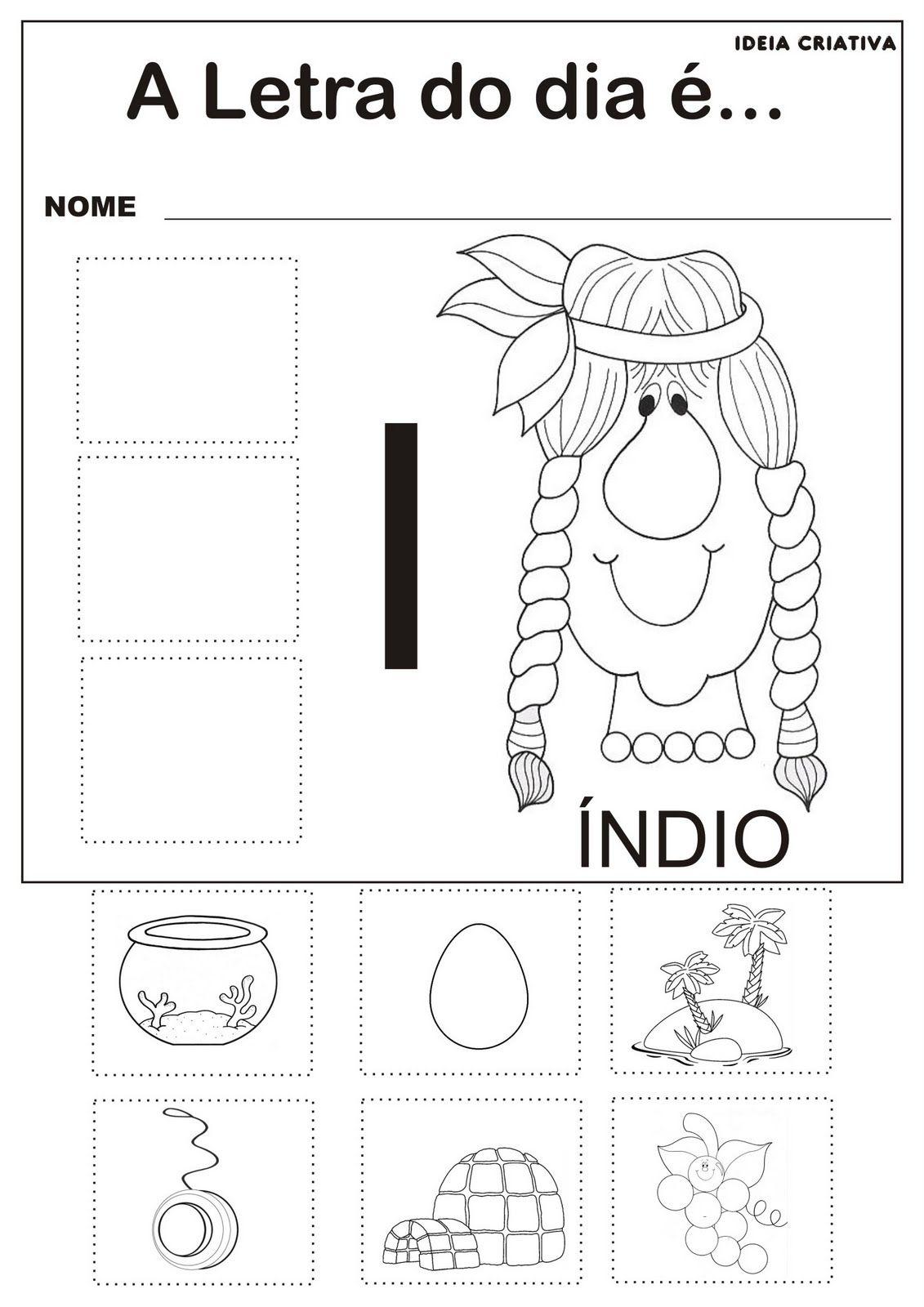 Top Atividades com as Vogais - A, E , I, O e U | Ideia Criativa - Gi  VK67