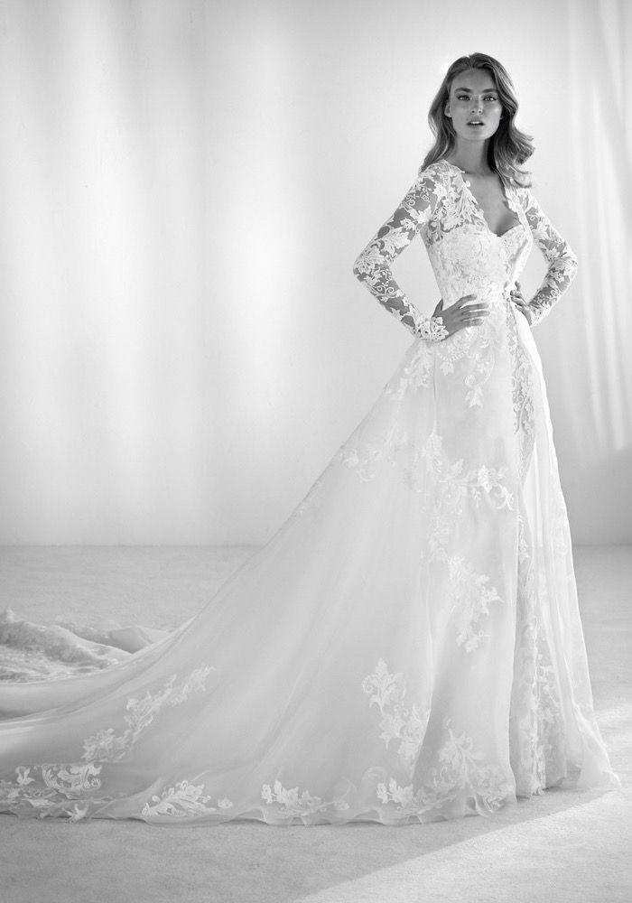 Atelier Pronovias 2018 wedding dress Available at Designer Bridal