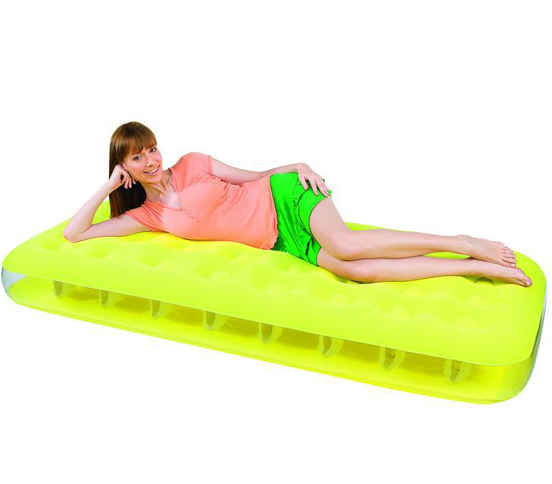 inflatable bright color air mattress for single people - Aufblasbare Mbel Der 90er Jahre