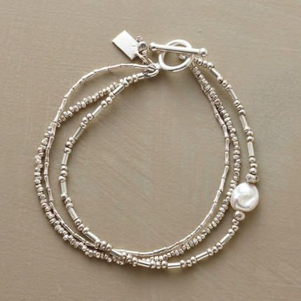 PEARLS IN THE STREAM BRACELET