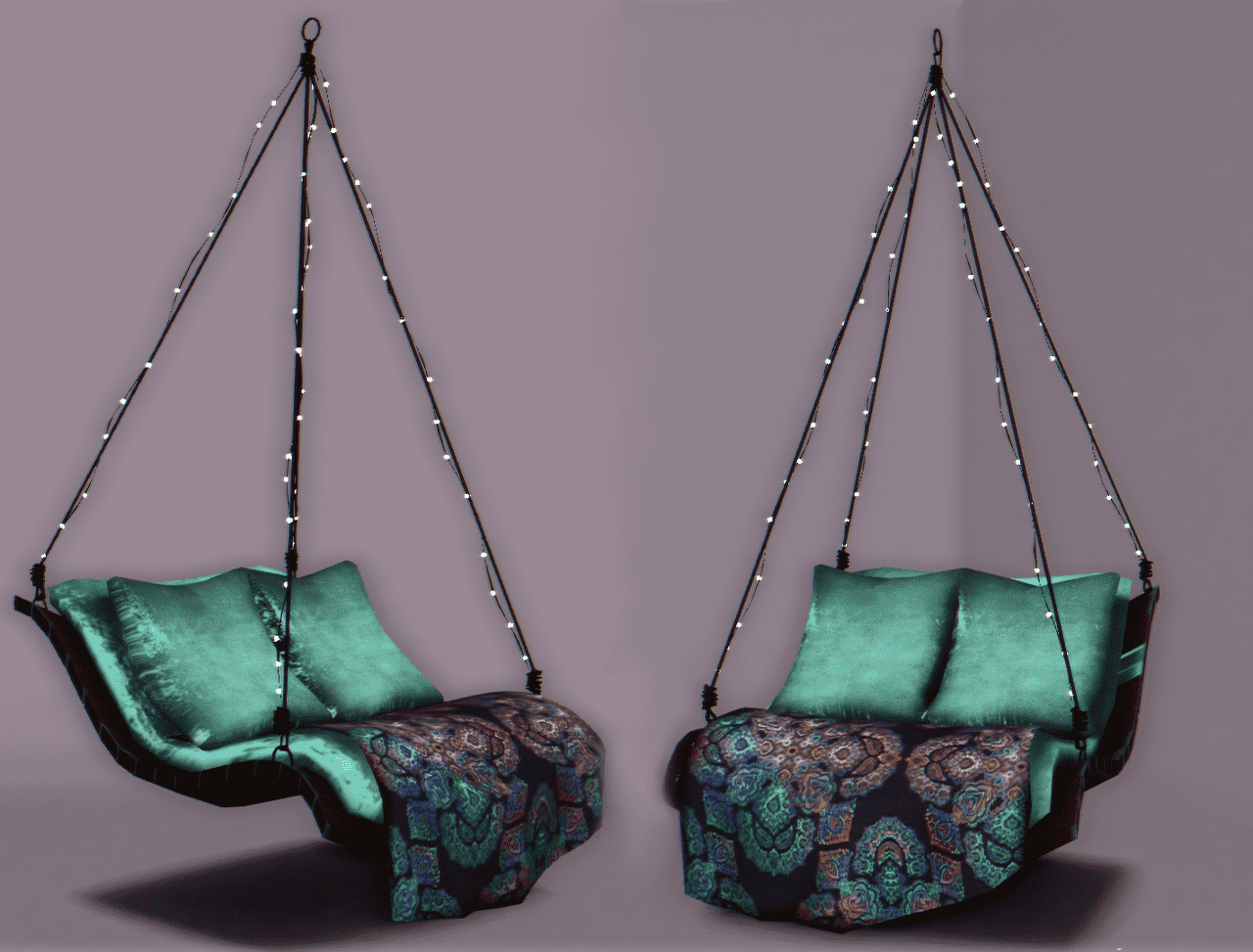 Lana Cc Finds Pixelecstasy Hanging Chair Conversion You