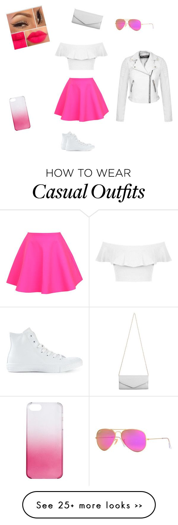 """""""Casual day"""" by pinkfluffyawesomeness on Polyvore"""