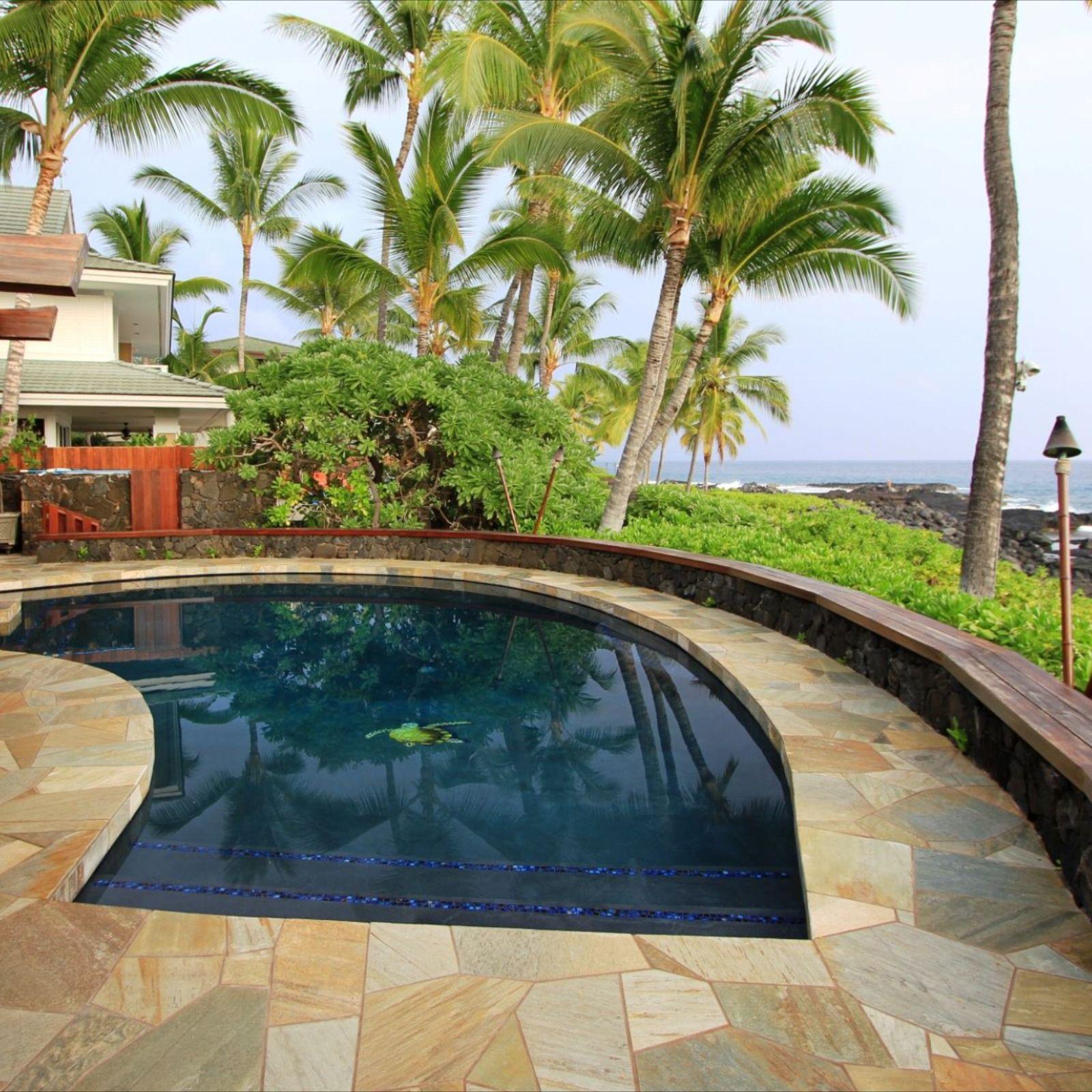 Free Form Ocean View Pool In Hawaii Swimming Pools Pool Swimming Pool Designs