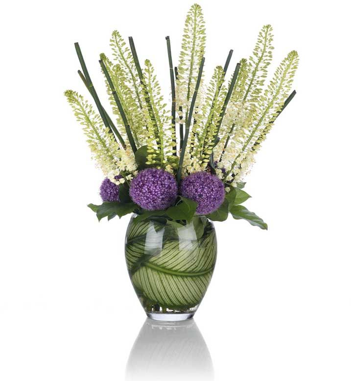 Weekly Deliveries For Offices Hotels Like These Stunning Allium Eremurus Officeflowers Office Flowers Corporate Flowers Beautiful Flower Arrangements