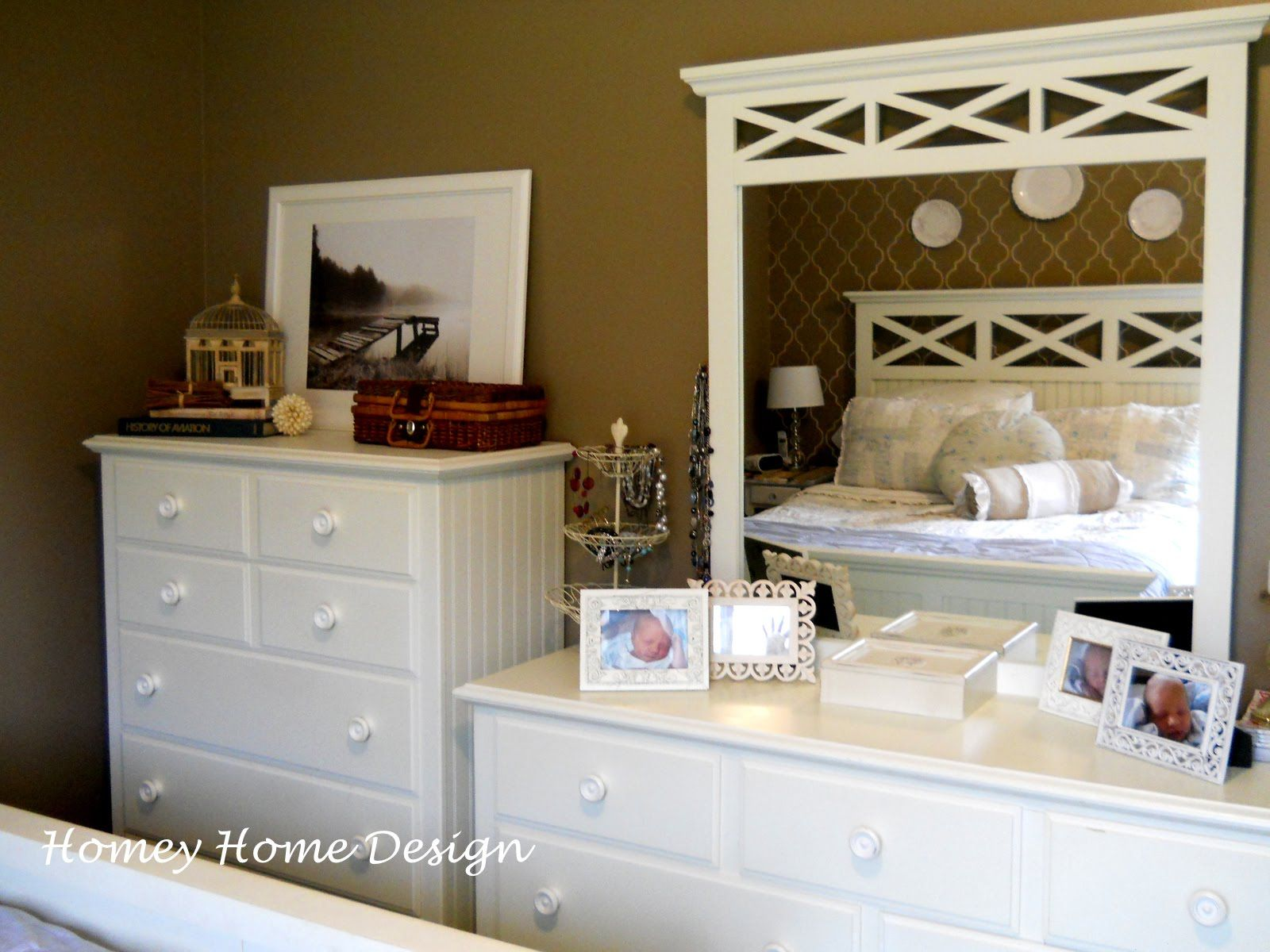 Wonderful Decorate Dresser Top | Bedroom Dresser Decorating Ideas