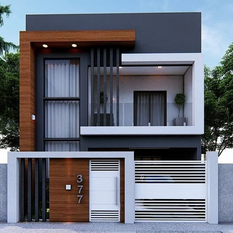 Hᴏᴜsᴇ Iɴsᴘɪʀᴀᴛɪᴏɴ On Instagram House Goals Rate It Follow My House In Small House Design Exterior 3 Storey House Design Modern Small House Design
