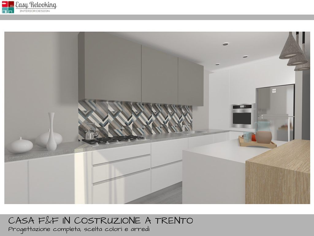 Rendering - soggiorno moderni sulle tonalità del grigio e nero ...