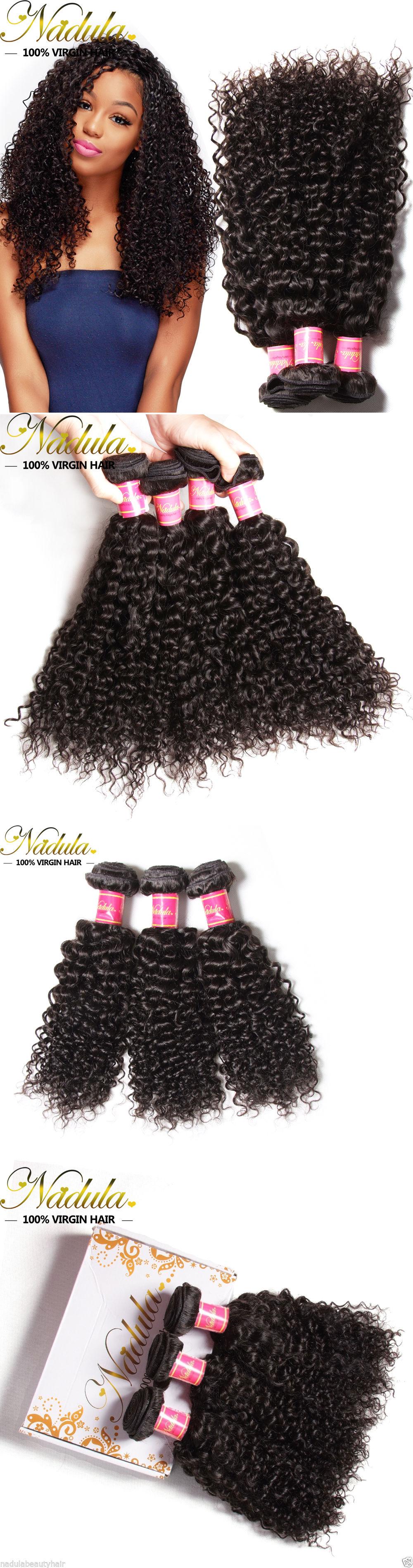 Hair Extensions Unprocessed Mongolian Curly Hair 3bundles Mongolian