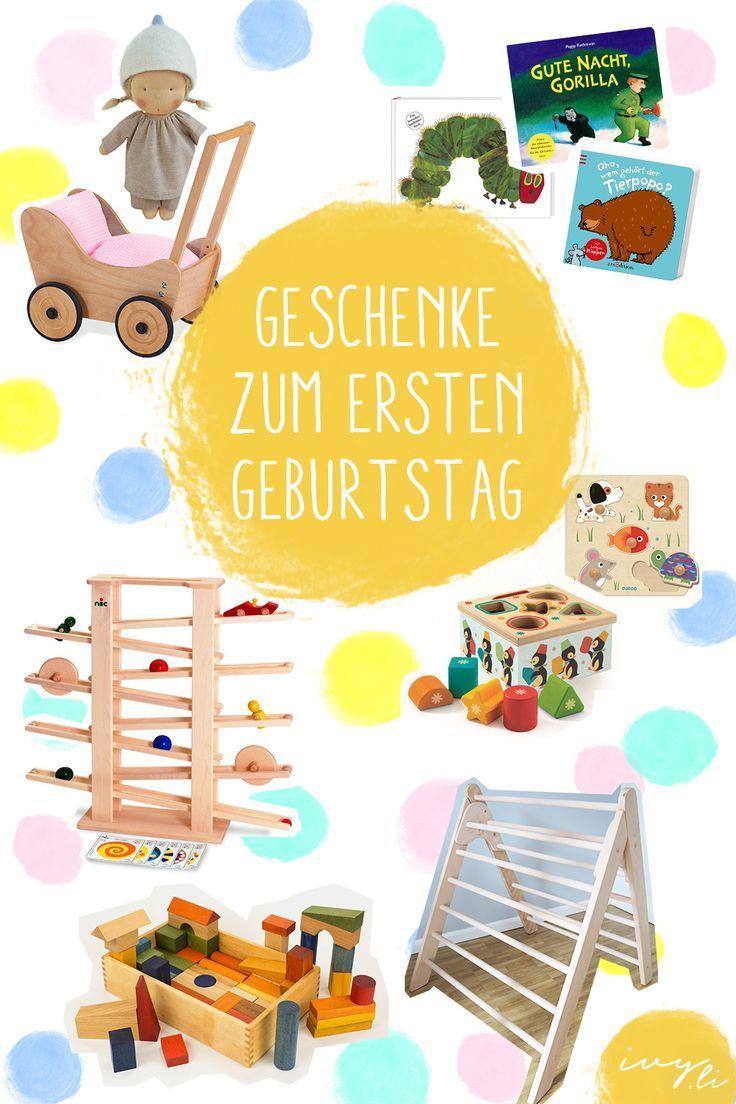 Sinnvolle Geschenke zum 1. Geburtstag | Best of Elternblogger ...