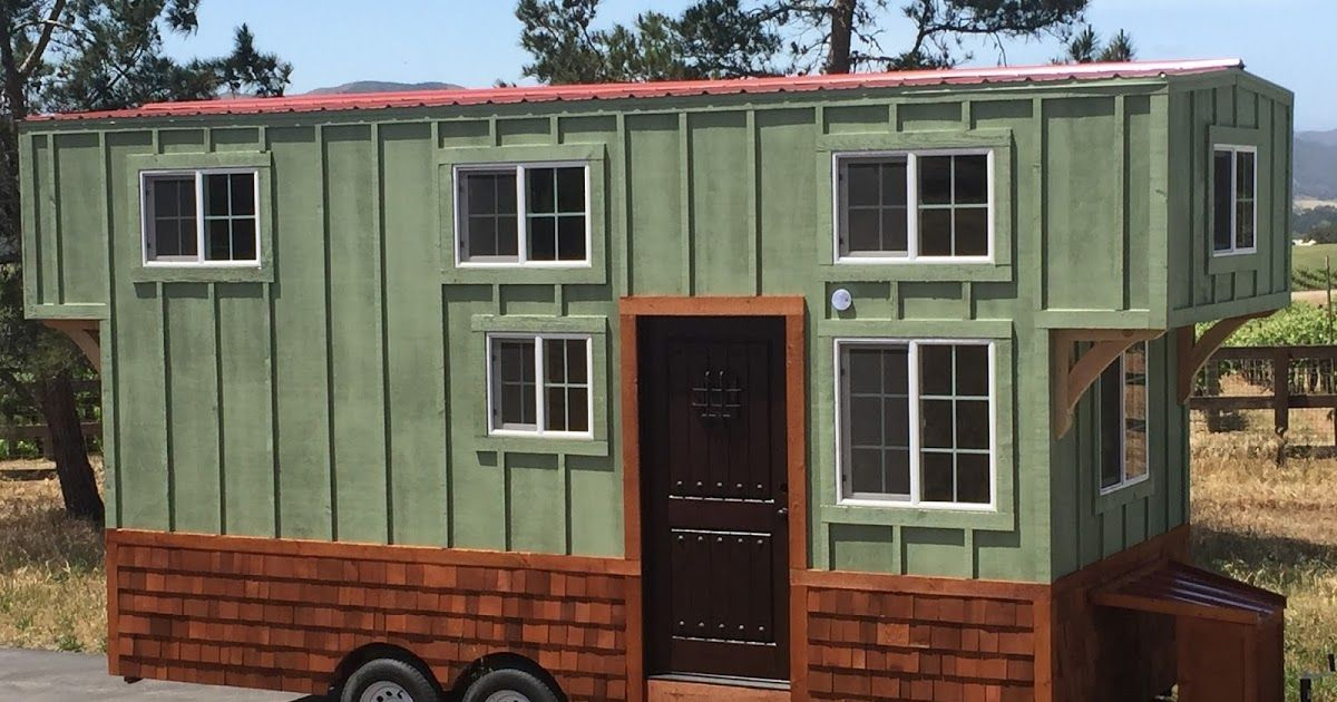 A Charming Rustic Tiny House That S Available For Sale In