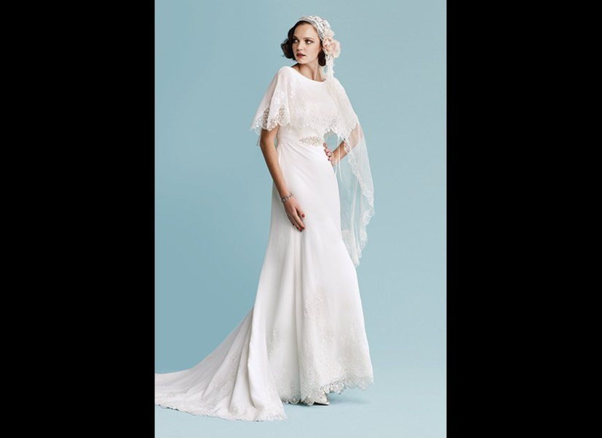 vintageinspired dresses for brides who love all things retro