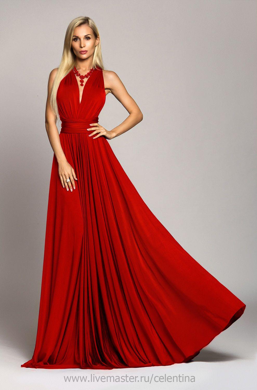 3723036d8e4 Купить Красное вечернее платье