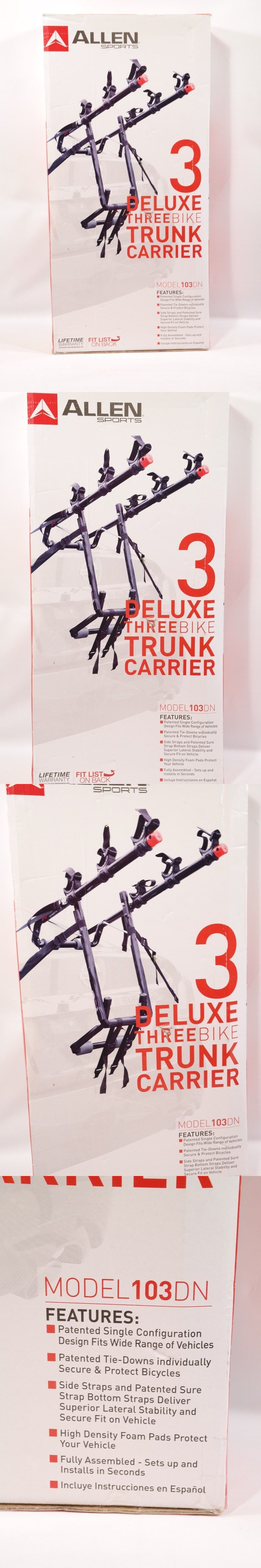 Car And Truck Racks 177849 Allen Sports Deluxe Trunk Mounted 3