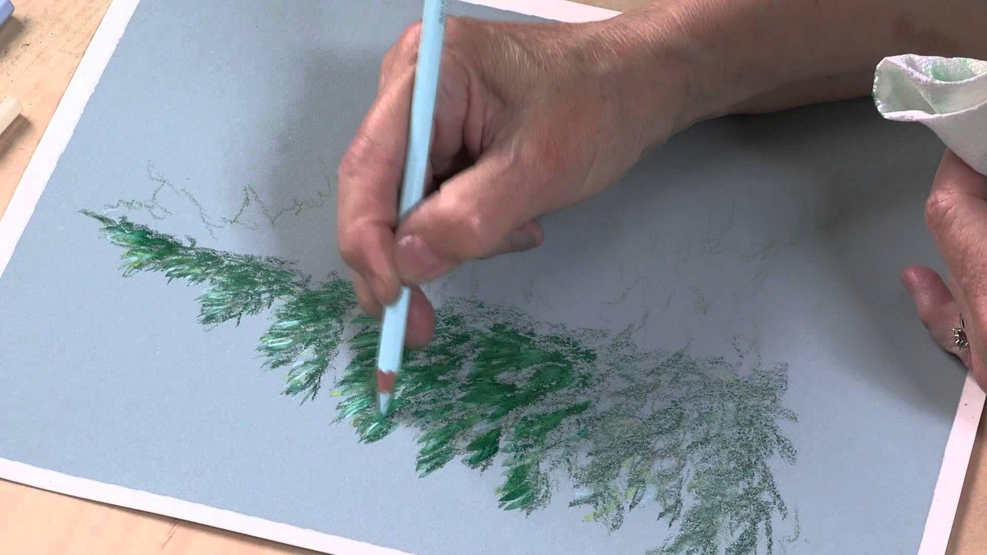 Colored Pencil Techniques Easy Landscape Painting