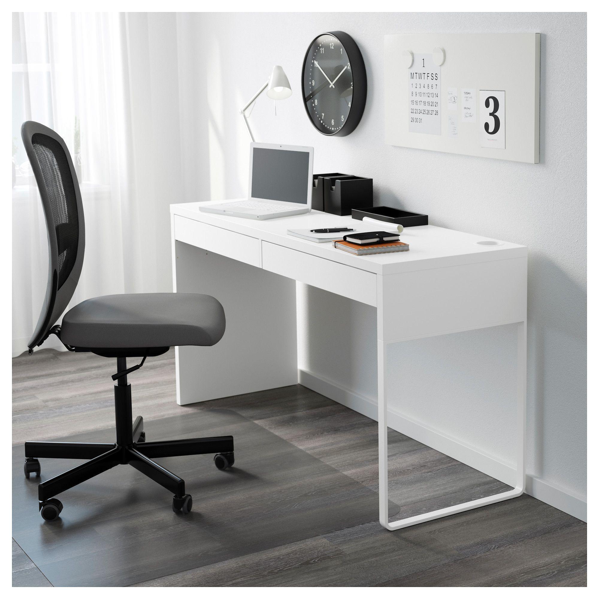 Micke White Desk 142x50 Cm Ikea Ikea Micke Desk Ikea Micke