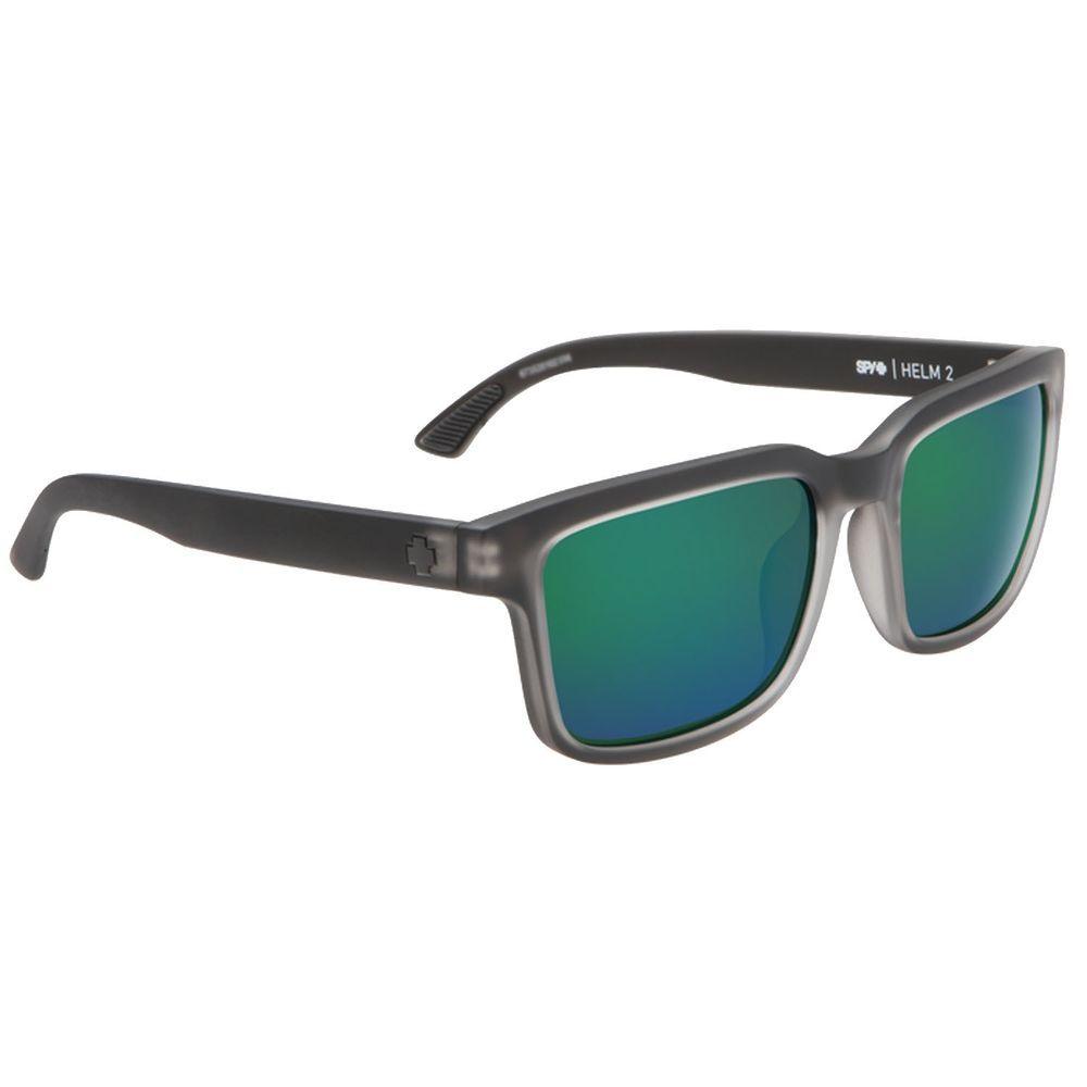 c914df2f98a eBay  Sponsored Spy Helm 2 Matte Black Ice Happy Bronze With Emerald  Spectra Sunglasses