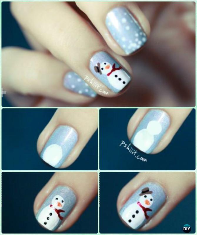 Diy holiday snowman nail art instruction diy christmas nail art diy holiday snowman nail art instruction diy christmas nail art ideas nailart beauty nail hairstyles pinterest snowman nail art snowman nails and solutioingenieria Image collections