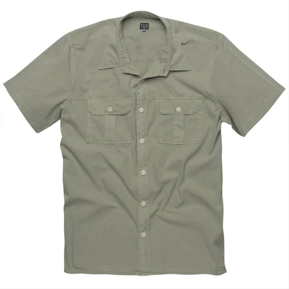 Camisas de Tecido de todos os preços e tipos na Taco Camisa de Tecido Manga Curta