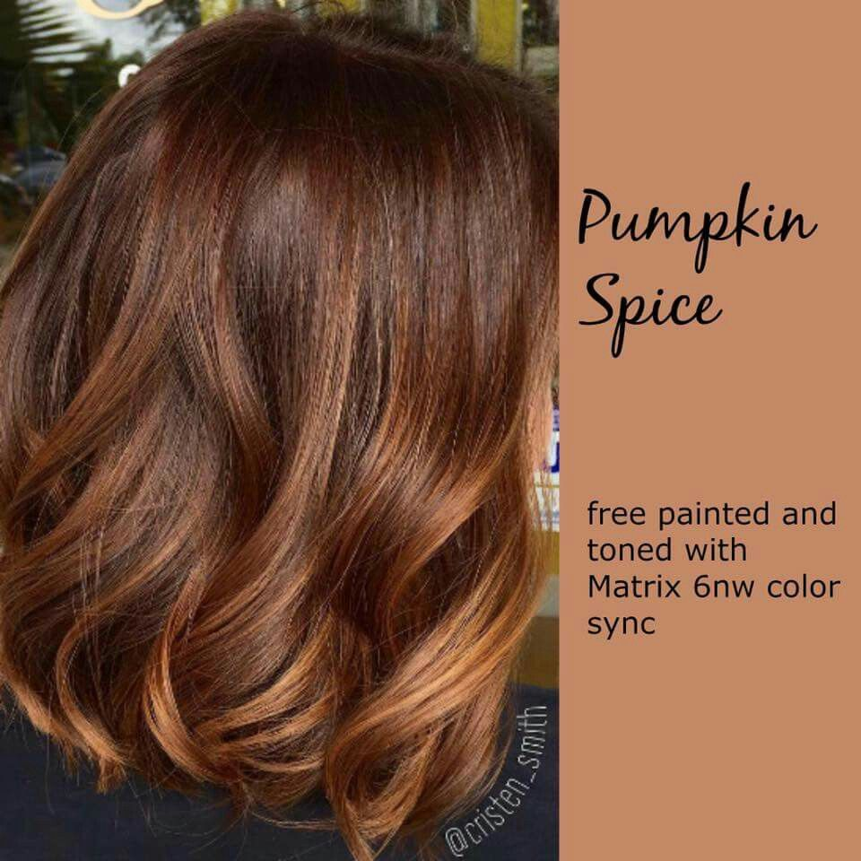 Pumpkin Spice Hair Pinterest Hair Coloring Hair Style And
