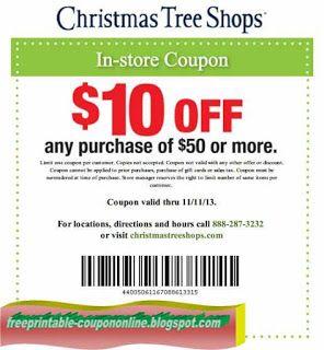 Free Printable Christmas Tree Shops Coupons Printable Coupons June