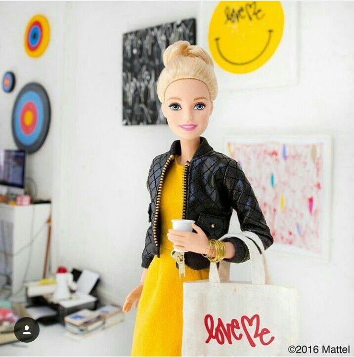 Barbie also loves lattes like I do!