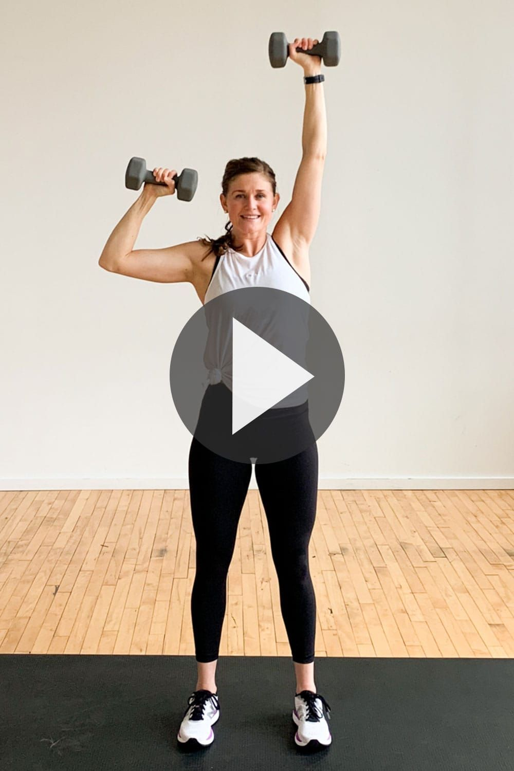 30-Minute Upper Body HIIT Workout for Women #cardiopilates