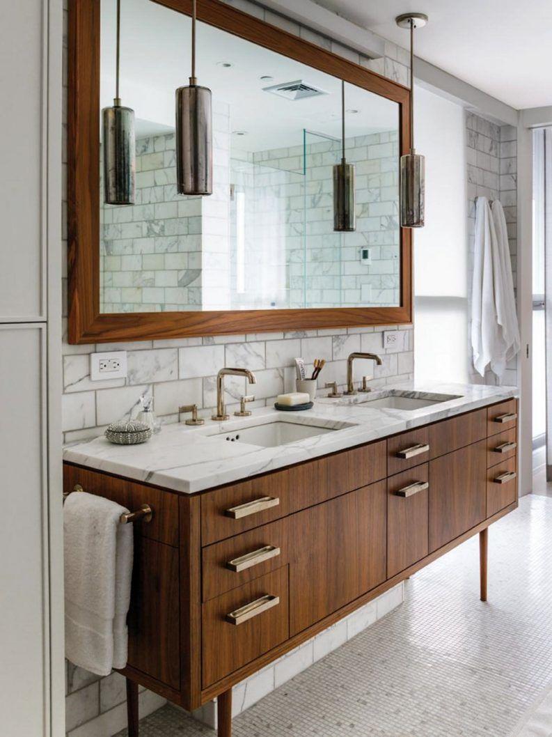 Best Mid Century Grey Bathroom Stylish Bathroom Mid Century 640 x 480