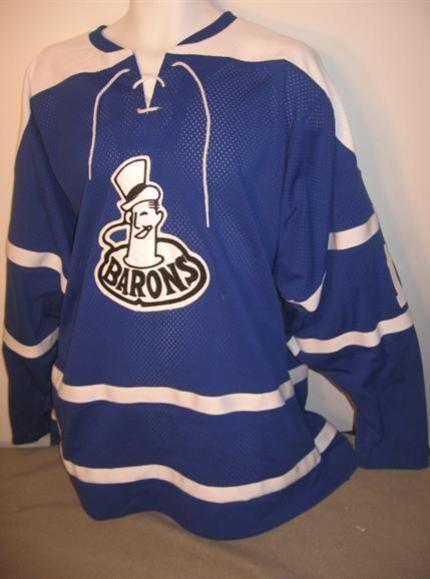 Cleveland Barons 1965 vintage hockey jersey  3a5edb33f