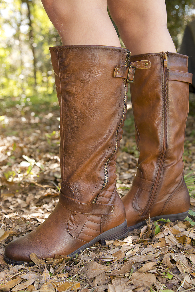 Go The Extra Mile Boots: Rust