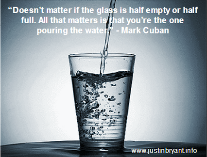 Doesnt Matter If The Glass Is Half Empty Or Half Full All That