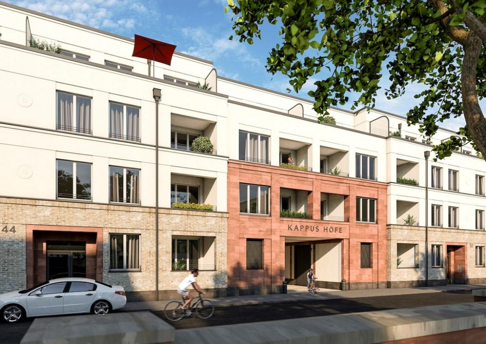 KappusHöfe (in Bau Architecture, Building, Structures