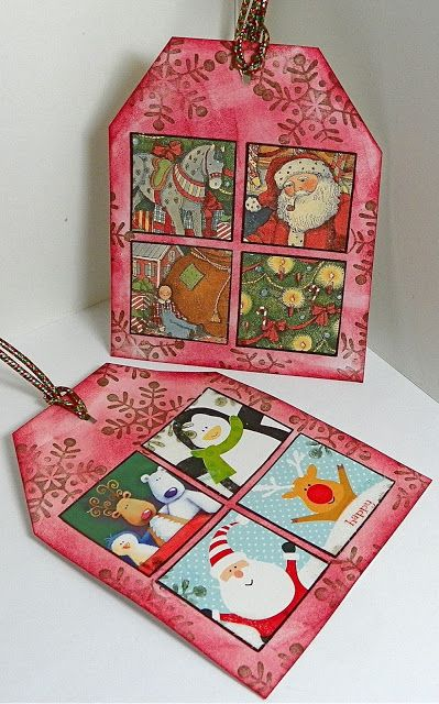 Lisa liza lou designs how to recycle old christmas cards into gift lisa liza lou designs how to recycle old christmas cards into gift tags m4hsunfo