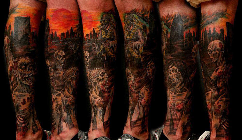 Website Expired Zombie Apocalypse Apocalypse Tattoos