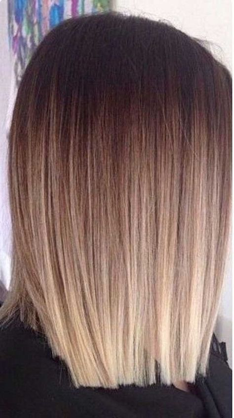 Short Straight Blonde Hair With Highlights