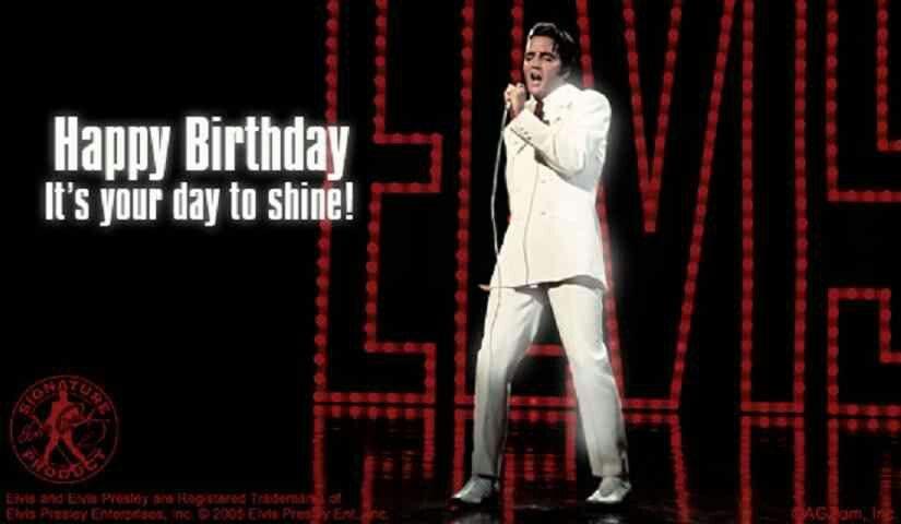 Elvis birthday card elvis pinterest elvis birthday happy elvis birthday card bookmarktalkfo Gallery