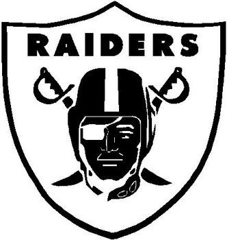 raiders shield vinyl cut decal sporty pinterest vinyl rh pinterest com Oakland Raiders Logo Oakland Raiders New Logo