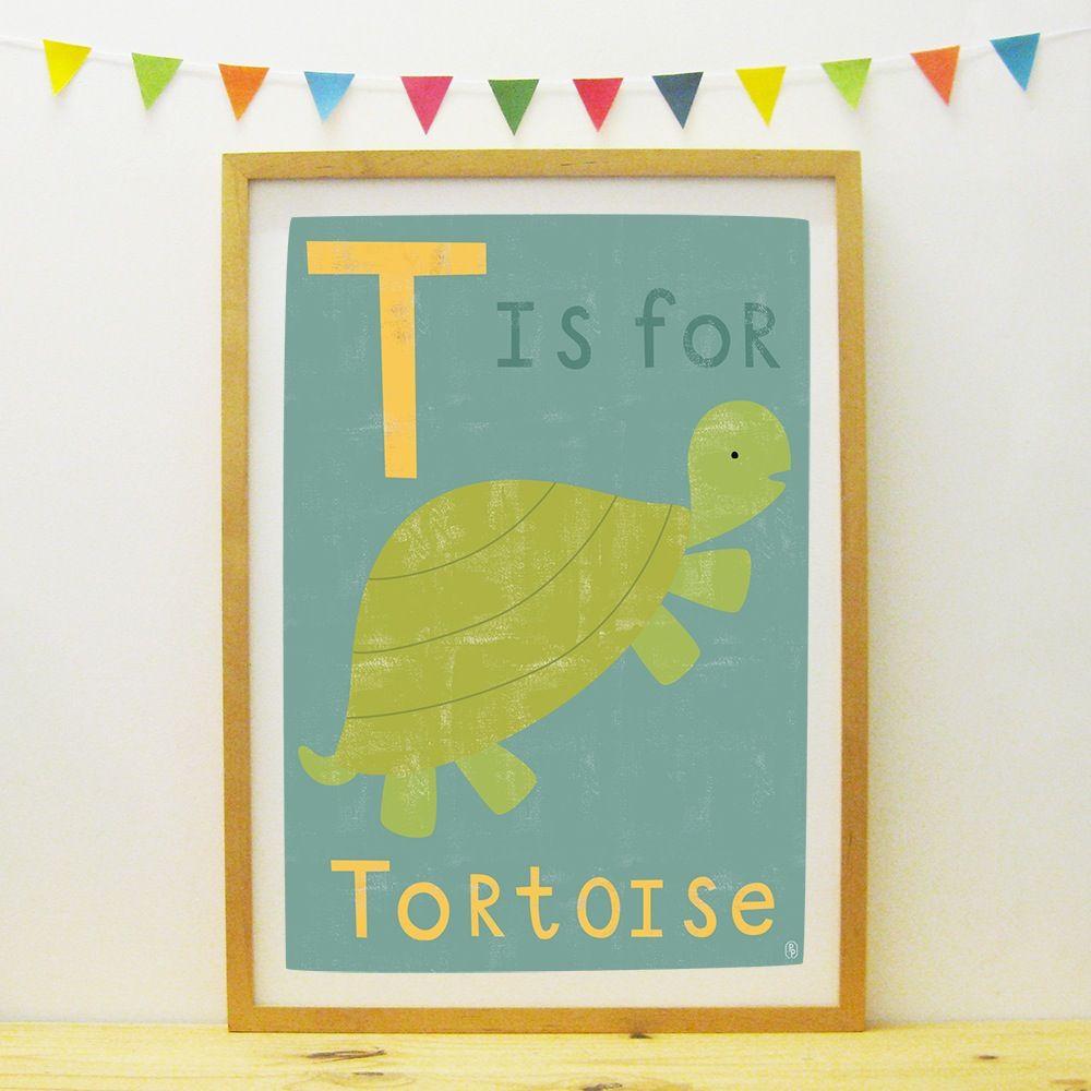 Tortoise poster/print | Paper Penknife