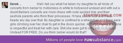 Death to belibers