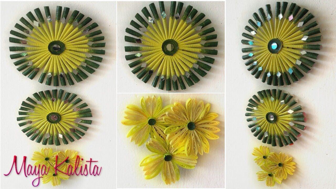 DIY Crafts: Diwali wall hanging Decorating Ideas - Easy Arts ...