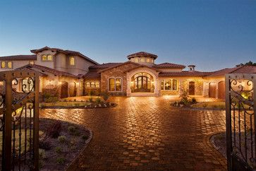 Luxury Homes In Austin TX | Waterfront Luxury Home Lake Travis    Mediterranean   Exterior   Austin .