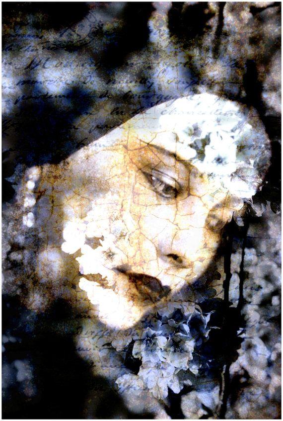 Gift Digital Collage Photoshop Mixed Media Print by AJoyfulStudio