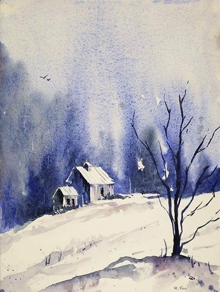Watercolor Paintings Of Landscapes Tutorials Recherche Google